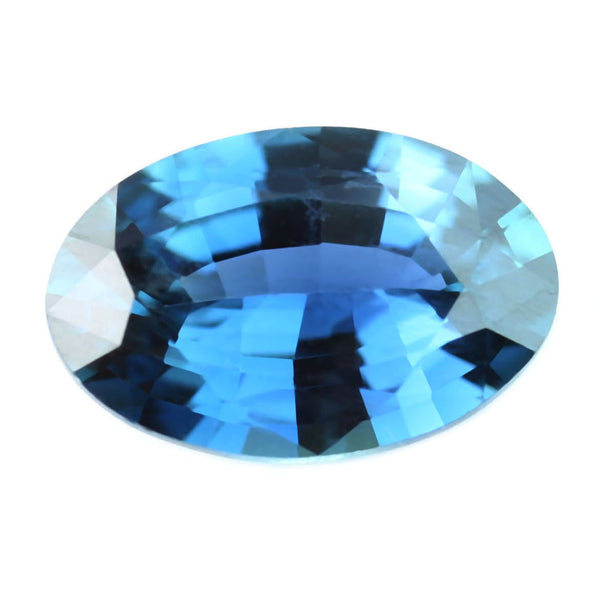 0.42ct Certified Natural Teal Sapphire
