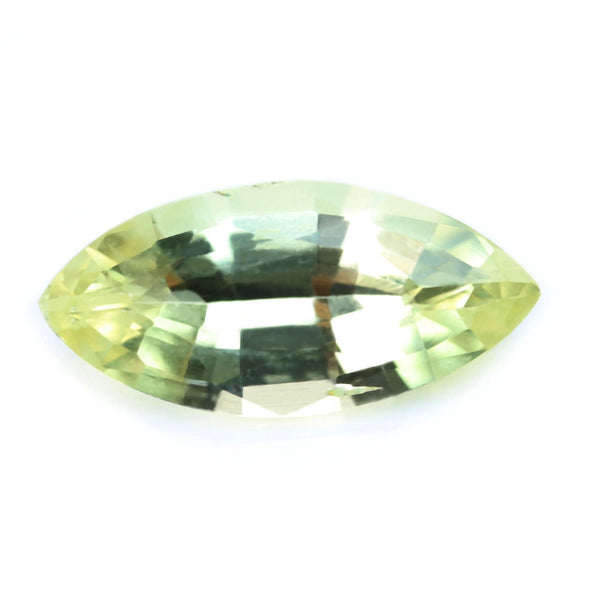 0.76ct Certified Natural Yellow Sapphire