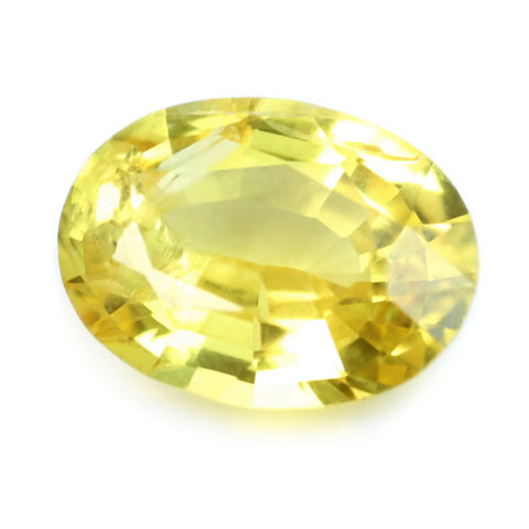 0.52ct Certified Natural Yellow Sapphire