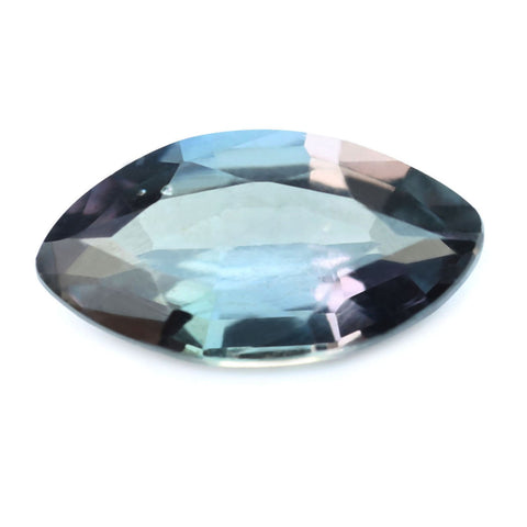 0.55ct Certified Natural Multicolor Sapphire