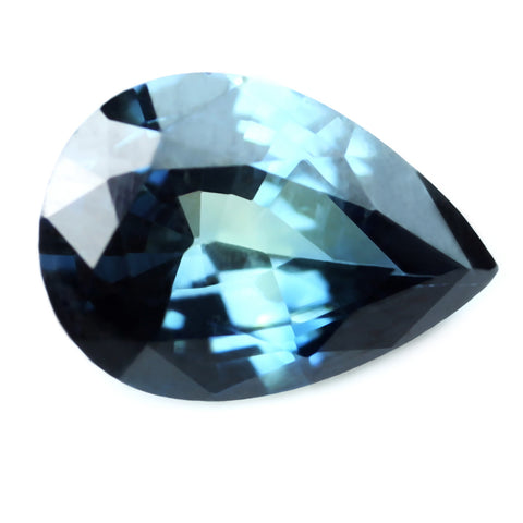 0.51ct Certified Natural Teal Sapphire