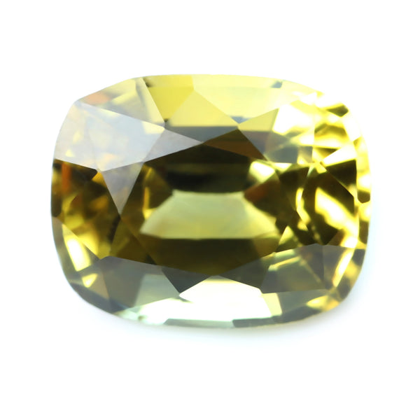 0.66ct Certified Natural Yellow Sapphire