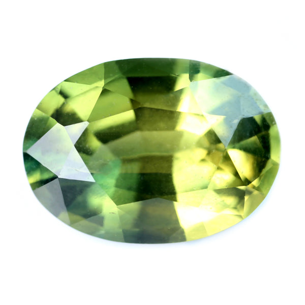 2.99ct Certified Natural Green Sapphire