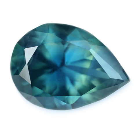 1.92ct Certified Natural Teal Sapphire