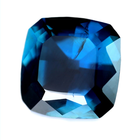 1.72ct Certified Natural Blue Sapphire