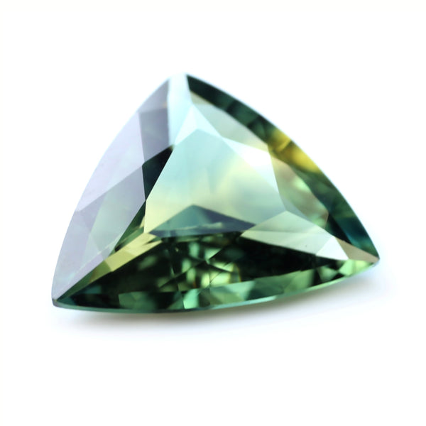 0.77ct Certified Natural Bicolor Sapphire