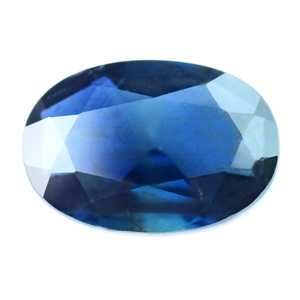 1.64ct Certified Natural Blue Sapphire