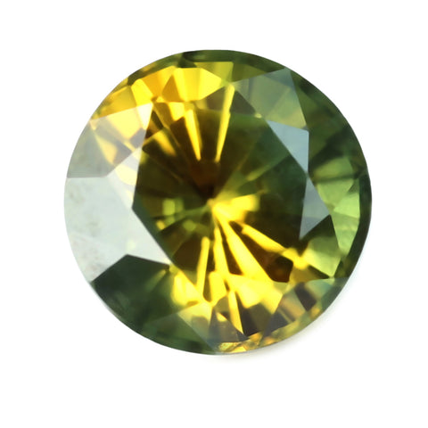 0.50ct Certified Natural Bicolor Sapphire