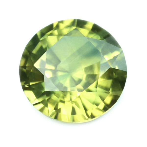 0.51ct Certified Natural Yellow Sapphire
