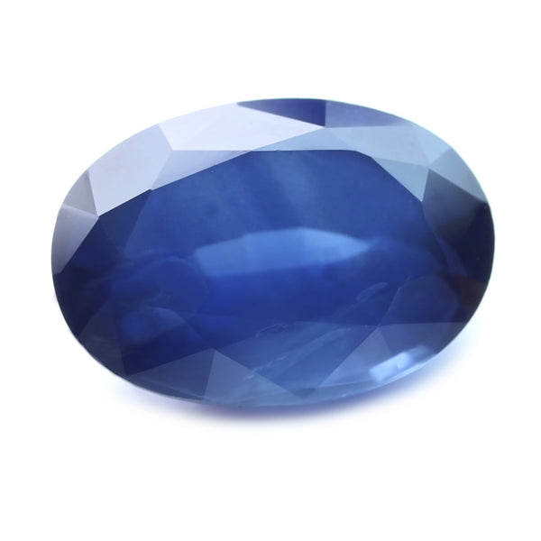 1.01ct Certified Natural Blue Sapphire