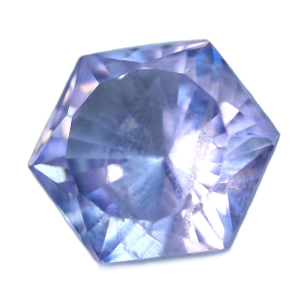 0.86ct Certified Natural Purple Spinel
