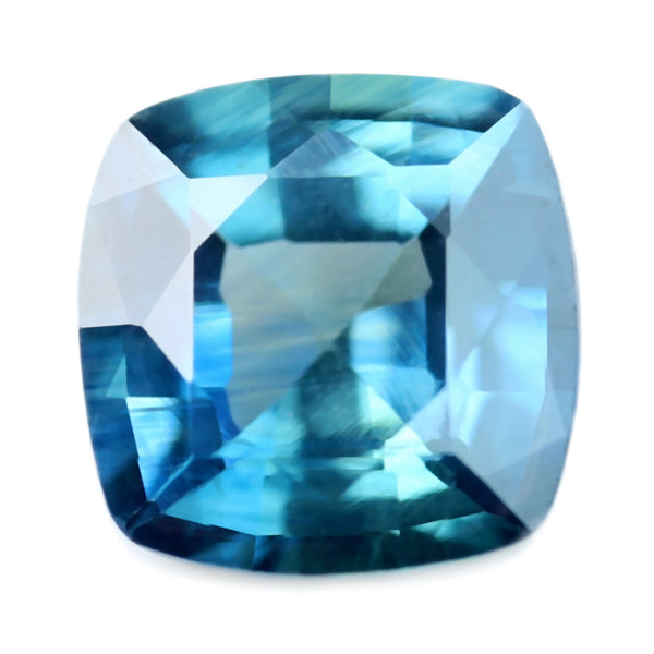 0.68ct Certified Natural Teal Sapphire