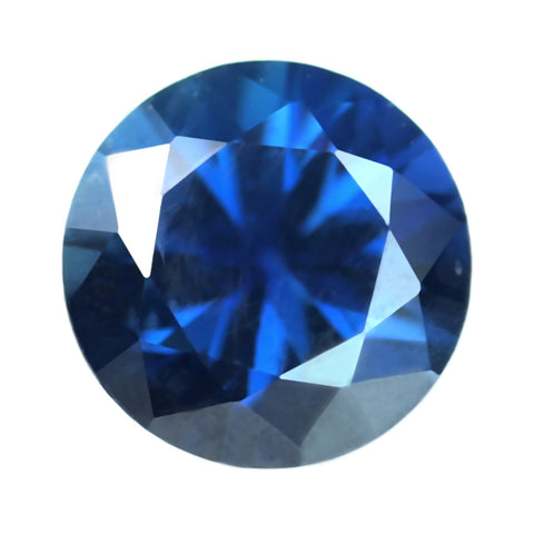 0.43ct Certified Natural Blue Sapphire