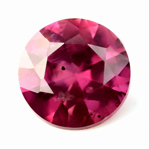 0.42ct Certified Natural Red Ruby