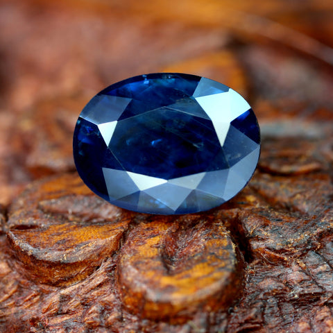 3.37cts Certified Natural Blue Sapphire