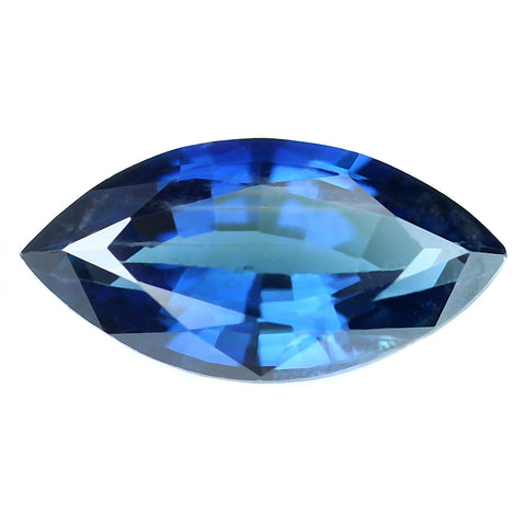 0.46ct Certified Natural Blue Sapphire