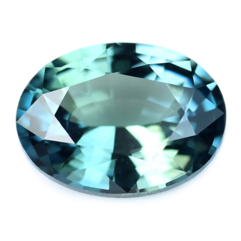 0.44ct Certified Natural Teal Sapphire