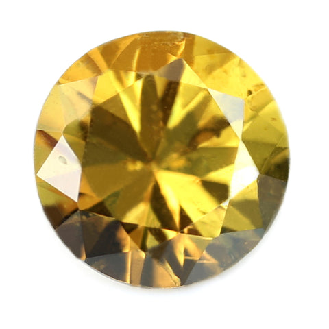 0.40ct Certified Natural Yellow Sapphire