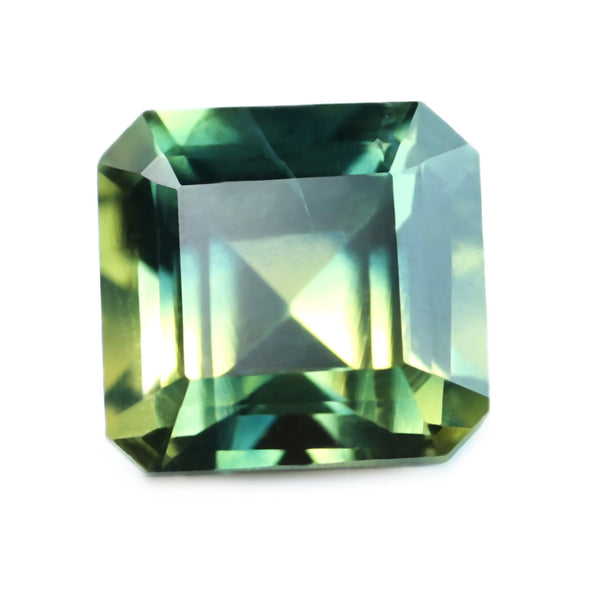 0.54ct Certified Natural Bicolor Sapphire