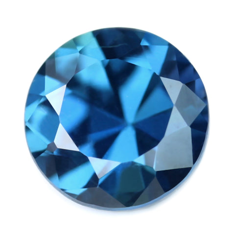 0.49ct Certified Natural Blue Sapphire