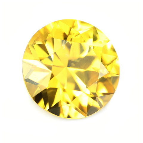 1.04ct Certified Natural Yellow Sapphire