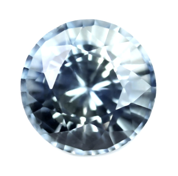 0.43ct Certified Natural White Sapphire