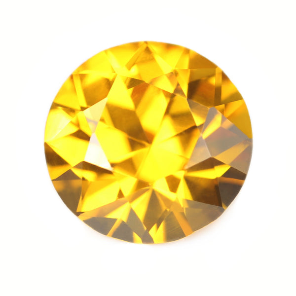 1.06ct Certified Natural Yellow Sapphire
