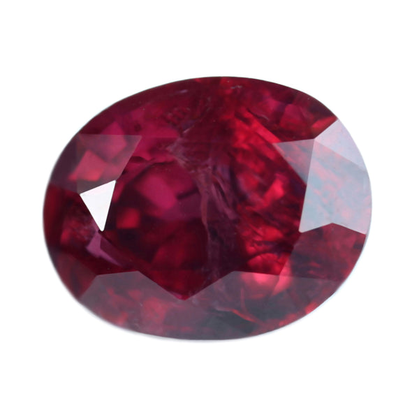 0.59ct Certified Natural Red Ruby