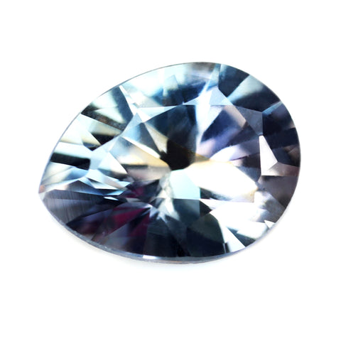 0.88ct Certified Natural Multicolor Sapphire