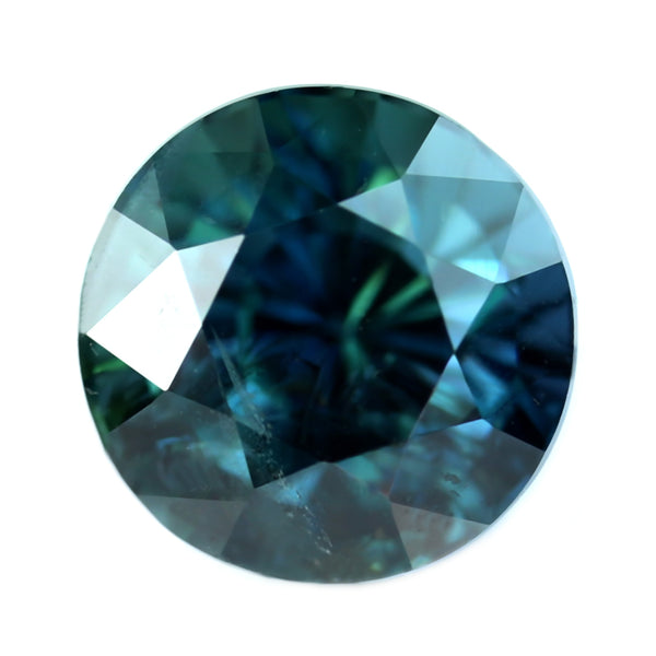 1.13ct Certified Natural Teal Sapphire