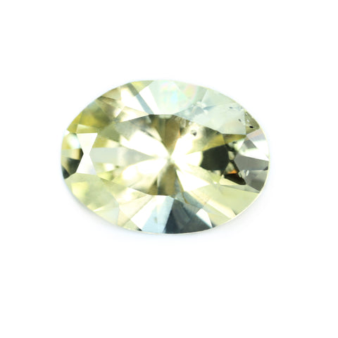 1.08ct Certified Natural Yellow Sapphire