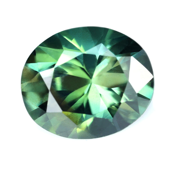 1.22ct Certified Natural Green Sapphire
