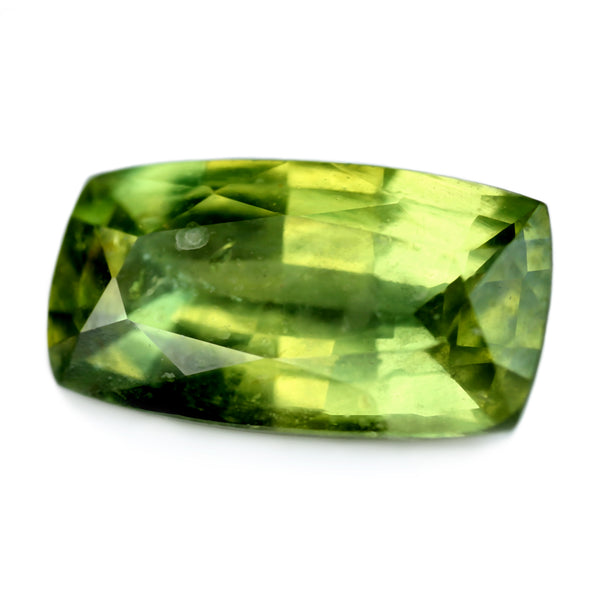 2.50ct Certified Natural Green Sapphire