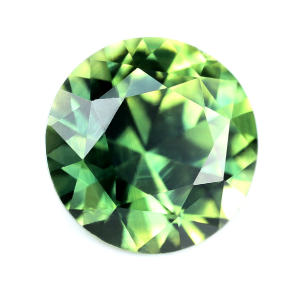 0.98ct Certified Natural Green Sapphire
