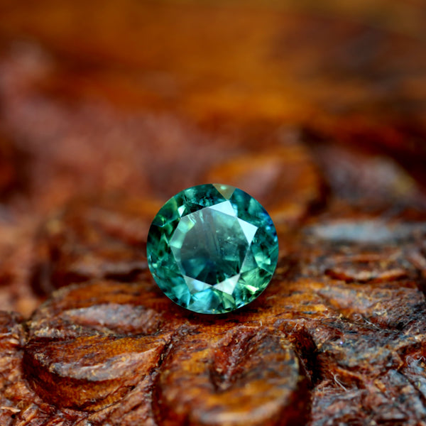 1.29ct Certified Natural Teal Sapphire