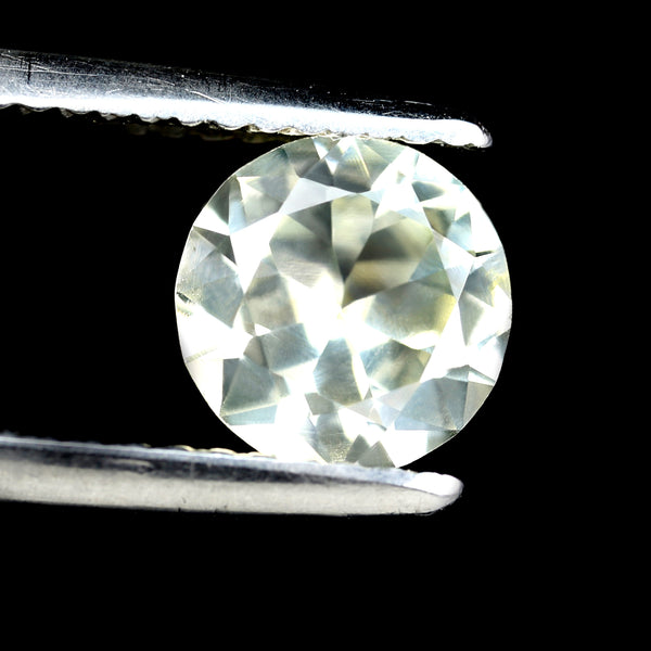 1.39ct Certified Natural White Sapphire