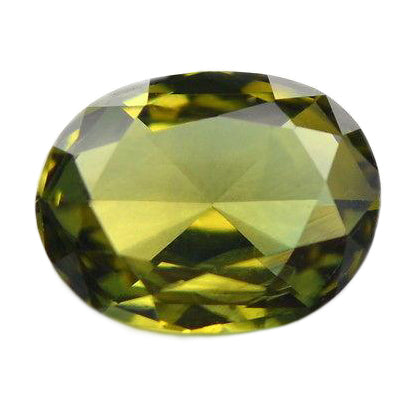 1.18ct Certified Natural Green Sapphire