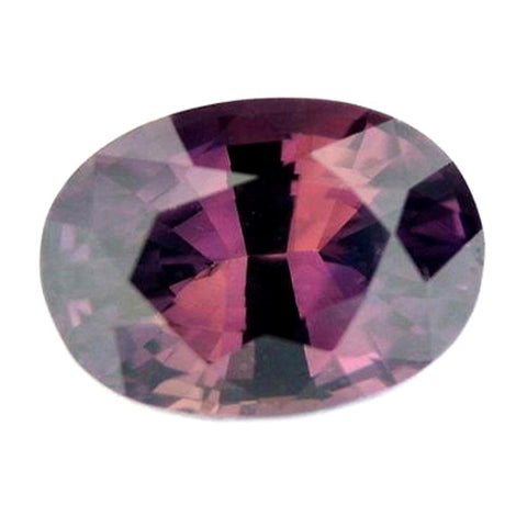 0.94ct Certified Natural Brownish Pink Sapphire