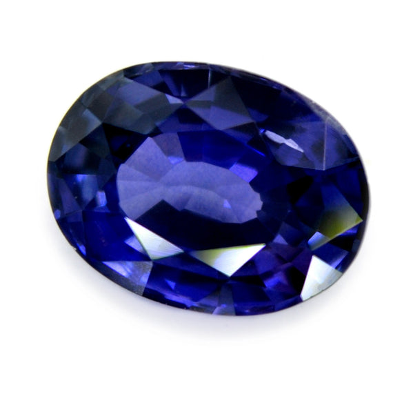 1.25 ct Certified Natural Blue Sapphire