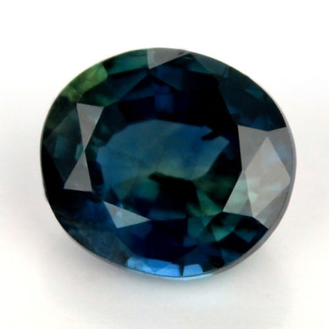Certified Natural Sapphire0.76ct Green/Blue Vs Clarity Oval Shape Madagascar Gemstone - sapphirebazaar - 1
