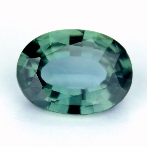Certified Natural Sapphire Teal Color 0.75ct Oval Flawless IF Clarity Madagascar Gem - sapphirebazaar - 1