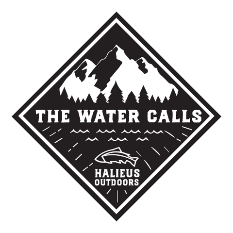 """The Water Calls"" Sticker"