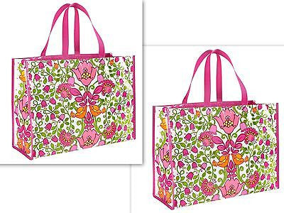 Vera Bradley Lilli Bell  Large Tote Beach Shopping Bag #12492-142