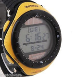 Men's Watch Sports Solar Powered Water Resistant Digital Multi-Function