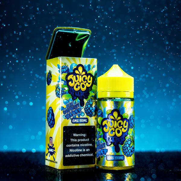 Juicy Co. - Blue Raspberry Blast 100ML - Liquid Guys