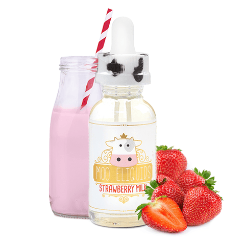 MOO ELIQUIDS Strawberry Milk E juice
