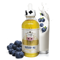 MOO ELIQUIDS - Blueberry Milk 120ML