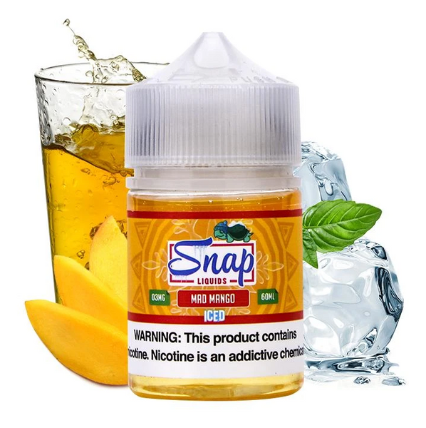 Snap Liquids - Mad Mango Iced 60ML - Liquid Guys