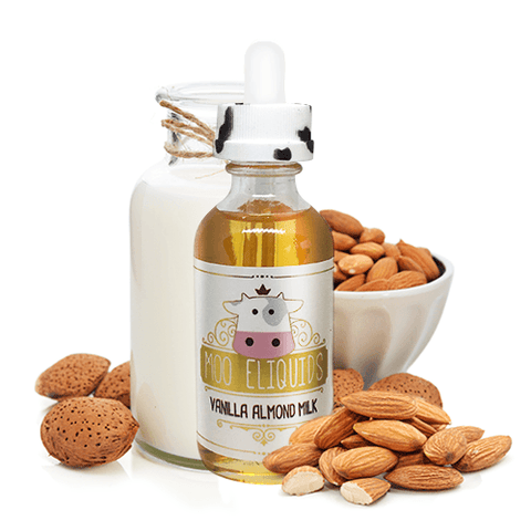 Vanilla Almond Milk Ejuice By Moo Eliquids 60ml