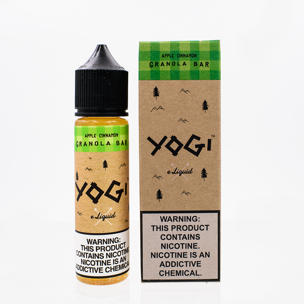 Yogi ELiquid - Apple Cinnamon Granola Bar 60ML - Liquid Guys